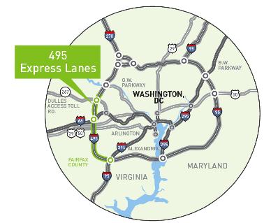 VDOT :: 495 Express Lanes